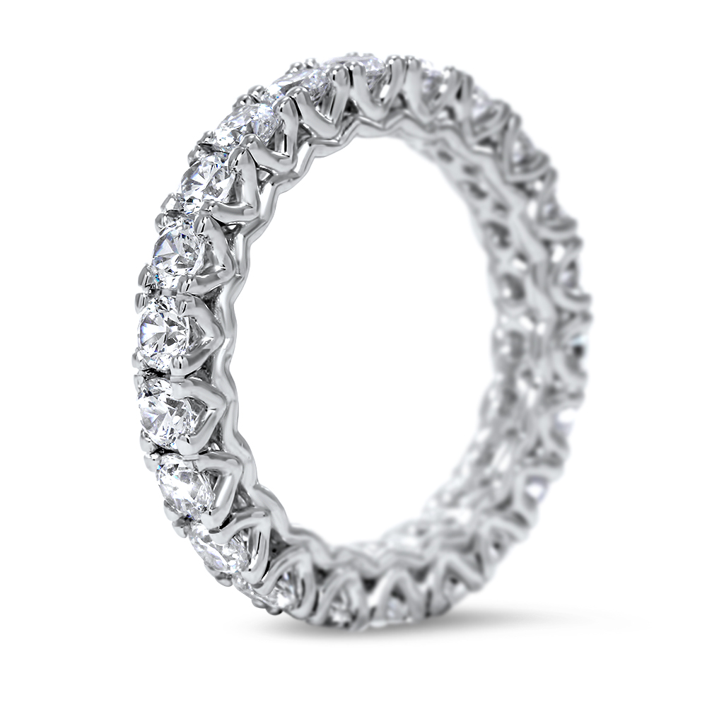 moissanite by products and band bands jewelry titanium eternity johan platinum in